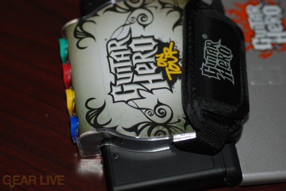 Guitar Hero DS grip strap