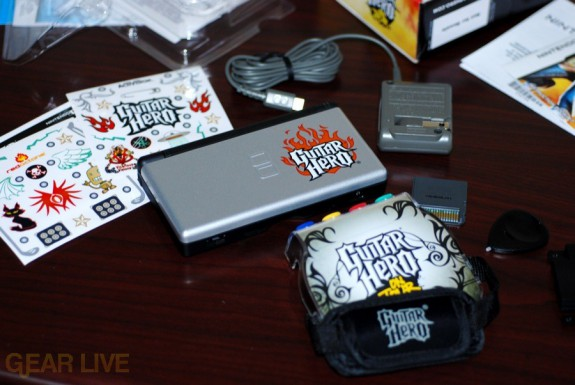 Guitar Hero: On Tour Special Edition DS unboxed