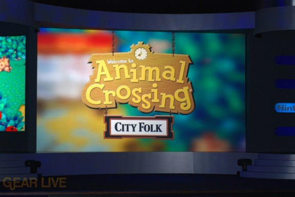 Nintendo E3 08: Animal Crossing City Folk
