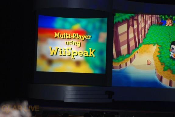 Nintendo E3 08: WiiSpeak microphone 3