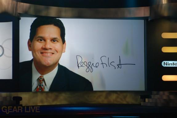 Nintendo E3 08: Reggie Fils-Aime splash
