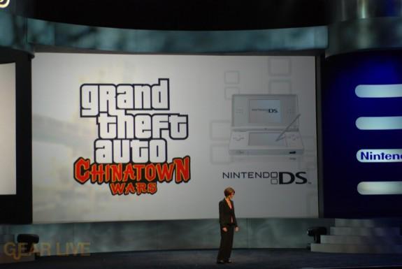 Nintendo E3 08: Grand Theft Auto Chinatown Wars