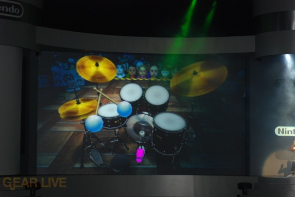 Nintendo E3 08: Wii Music Drums