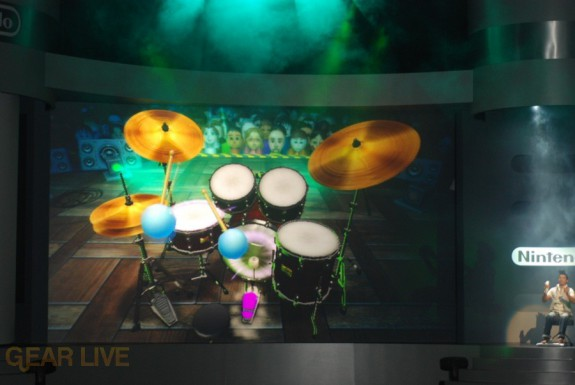 Nintendo E3 08: Wii Music Drums 3