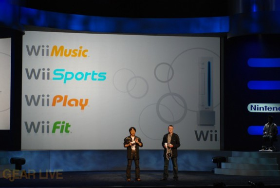 Nintendo E3 08: Wii Music, Wii Sports, Wii Play, Wii Fit