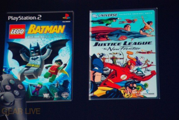 E308 Sony Briefing PS2 Batman bundle