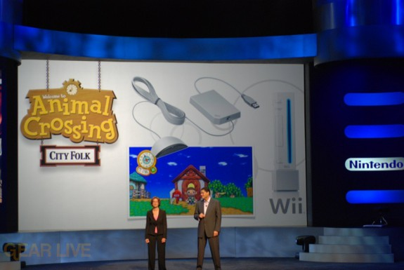 Nintendo E3 08: Animal Crossing, WiiSpeak