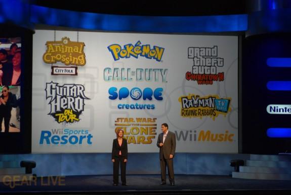 Nintendo E3 08: Briefing Announcement Finale
