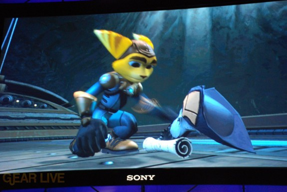 E308 Sony Briefing Ratchet Clank Future 3