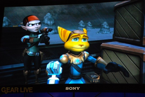 E308 Sony Briefing Ratchet Clank Future 4