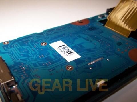 Back of Zune Circuitboard