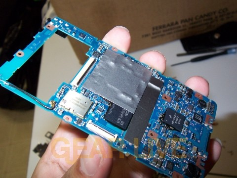 Microsoft Zune Motherboard Removed