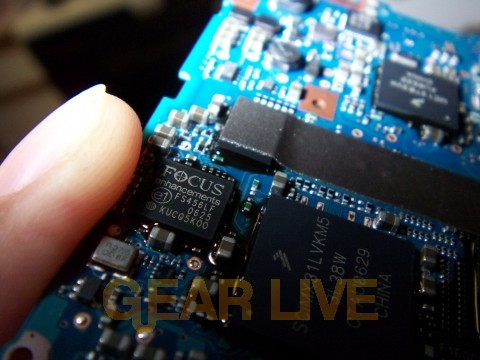 Zune Motherboard Chips