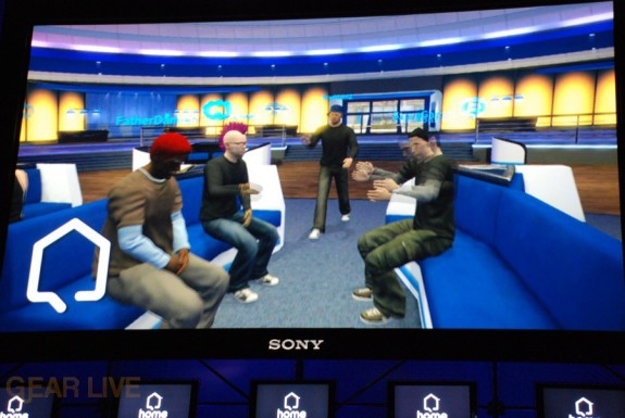 E308 Sony Briefing Playstation Home screenshot 4