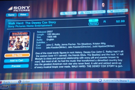 E308 Sony Briefing Playstation Video Store 7