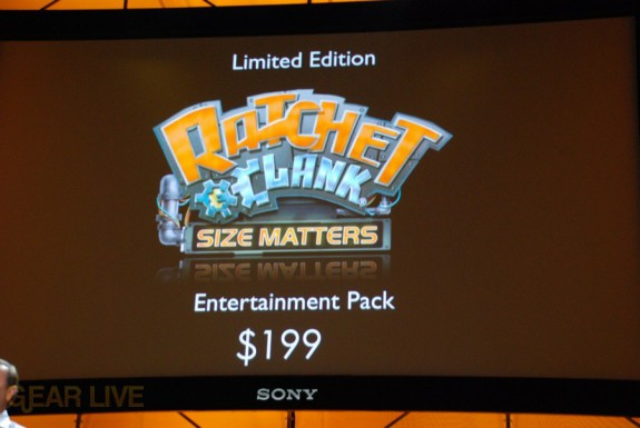 E308 Sony Briefing PSP Ratchet bundle