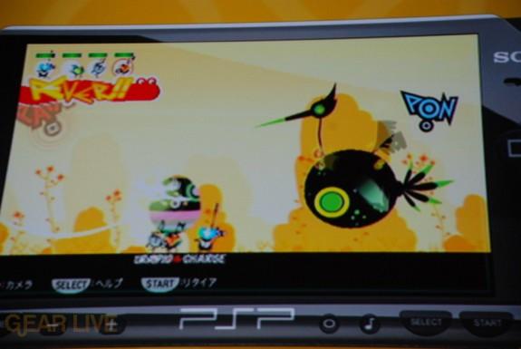 E308 Sony Briefing PSP PixelJunk Eden 2