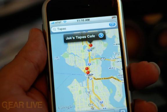 iPhone: Google Maps