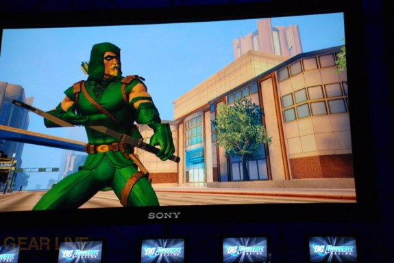 E308 Sony Briefing DC Universe Online screenshot 7