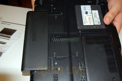 HP Pavilion TX1000 Extended Battery