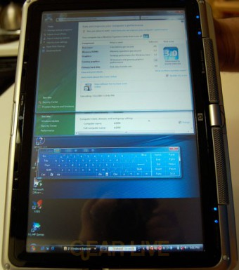 Software Keyboard in Windows Vista