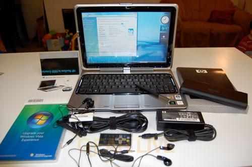 HP Pavilion TX1000 Unboxed