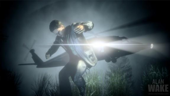 Alan Wake helicopter