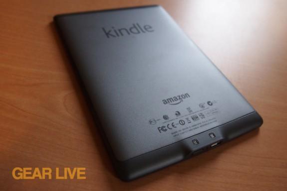 Amazon Kindle 4 back