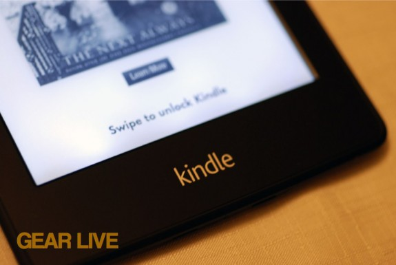 Logo on Kindle Paperwhite