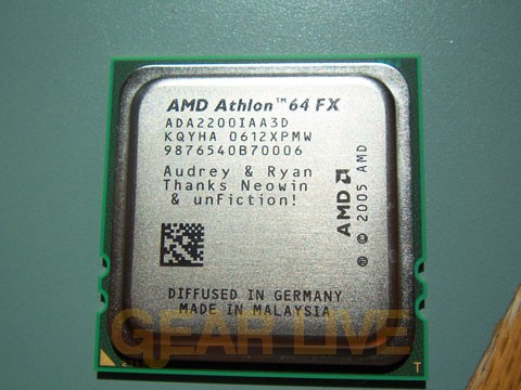 AMD Special Edition Vanishing Point Chip