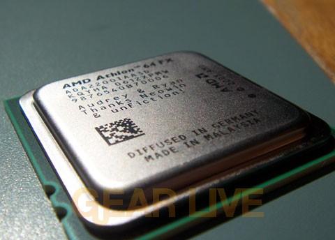 Bird's Eye AMD Vanishing Point Chip