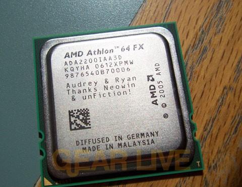 Alternate View of AMD Vanishing Point Chip