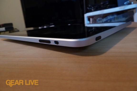 iPad: Screen lock, volume, power