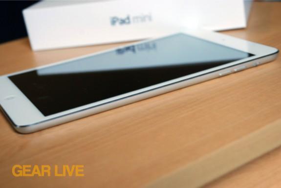 iPad mini right side