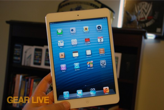 iPad mini Home screen