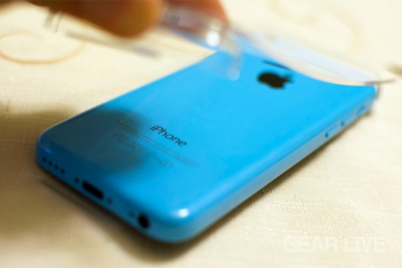 iPhone 5c Plate Removal