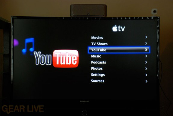 Apple TV YouTube