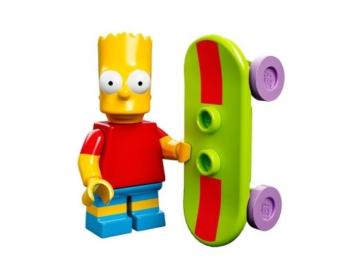 Bart The Simpsons Minifig