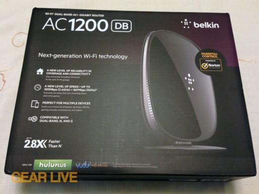 Belkin AC1200 Dual Band Wireless AC Gigabit Router