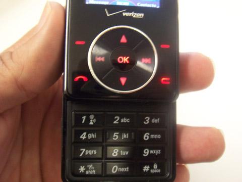LG Chocolate Keypad