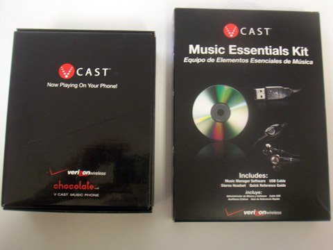 LG Chocolate Music Essentials Kit