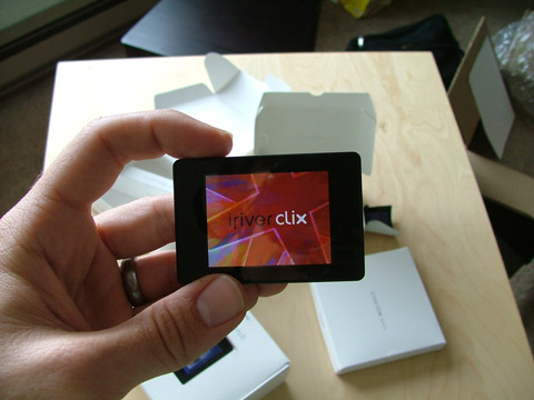 clix Power-On Screen