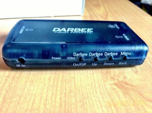 Darbee Darblet front controls