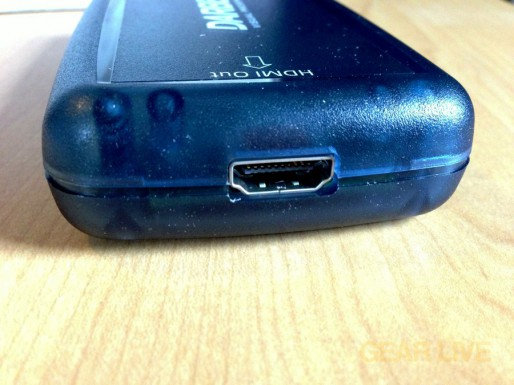 Darbee Darblet HDMI output