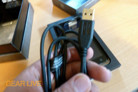Droid Bionic micro USB cable