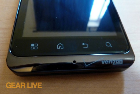 Droid Bionic touch panel