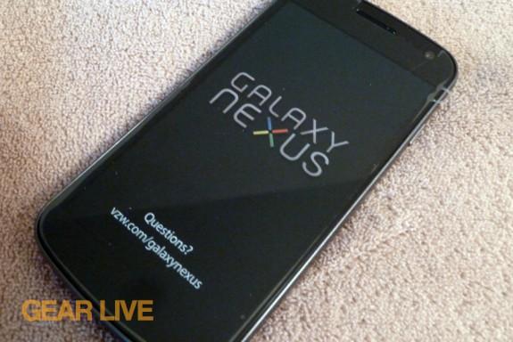Samsung Galaxy Nexus smartphone