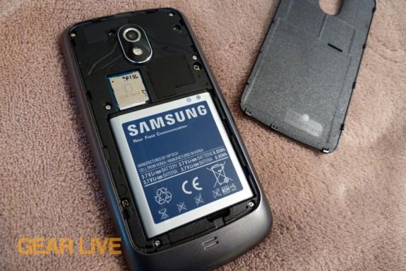 Galaxy Nexus battery compartment