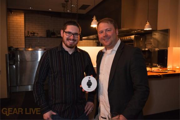 Tyler Pruitt & Christian Nossum show off their prizes