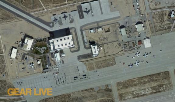 Google Maps Edwards Air Force Base